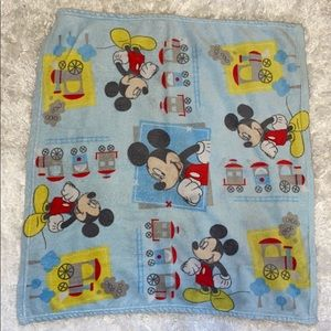 Retro Mickey Mouse Blanket